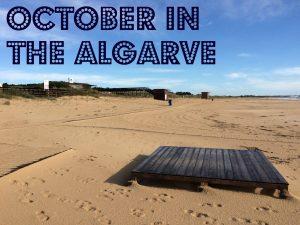 October in the Algarve