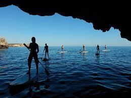 Stand up paddling Algarve