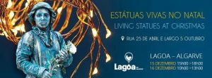 live christmas statues Lagoa