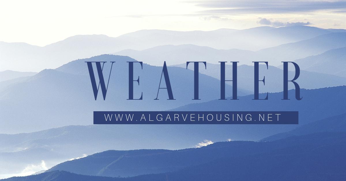 weather in the algarve