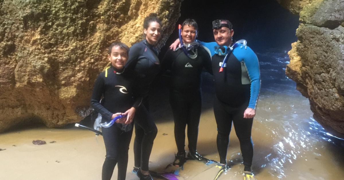 snorkeling algarve