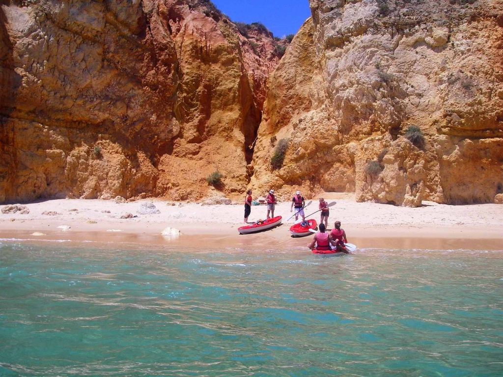 Kayaking Algarve