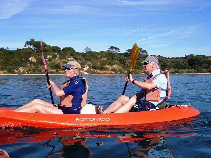 Canoeing algarve