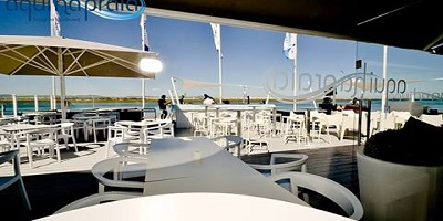 Beach bar algarve