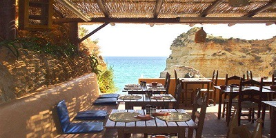 Cool beach bar algarve