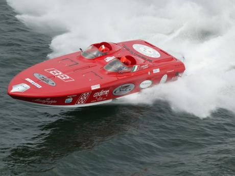 Power boat races Portimao